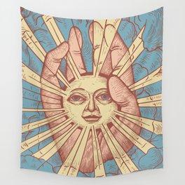 Dumb Sun Wall Tapestry