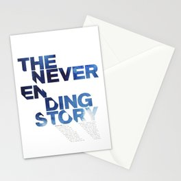 The neverending story Stationery Cards