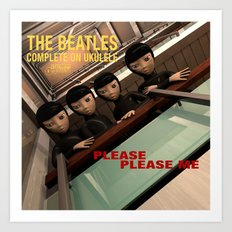 Please Please Me Art Print