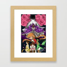 The Electric Rose Framed Art Print