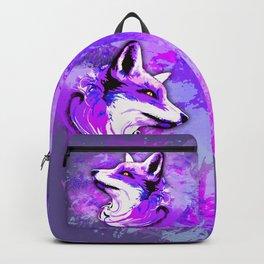 Purple Fox Spirit Backpack