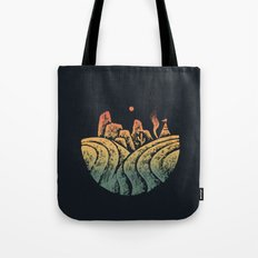 Somewhere i belong Tote Bag
