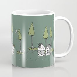 Hansel and Gretel - Green Coffee Mug