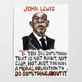 John Lewis Tribute Poster