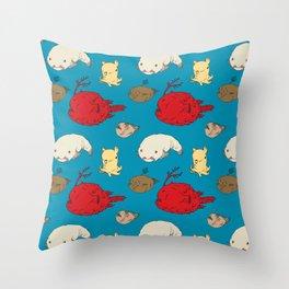 Creatures of the Deep Throw Pillow