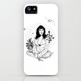 In my own world iPhone Case