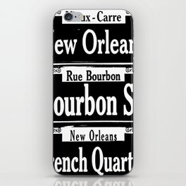 New Orleans French Quarters iPhone Skin