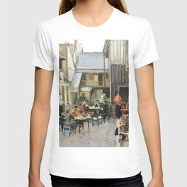 12,000pixel-500dpi - Sir John Lavery - Red Cross Hostel, Rouen - Digital Remastered Edition T-shirt