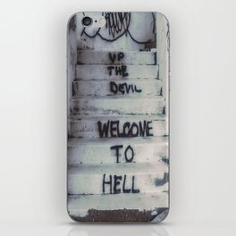 Welcome to Hell iPhone Skin