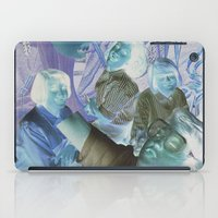 sisters iPad Cases featuring Sisters by Jon Duci