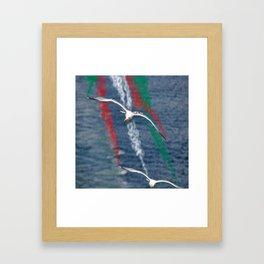 frecce Framed Art Print