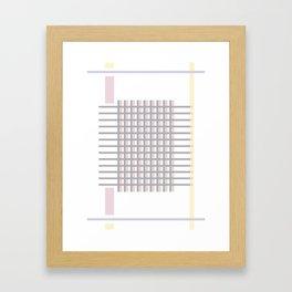 Pastel attack Framed Art Print