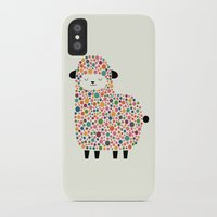 bubble iPhone & iPod Cases featuring Bubble Sheep by Andy Westface