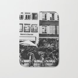 french buildings Bath Mat