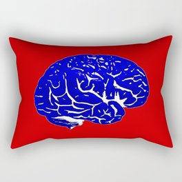 Brain of a Superhero - Capt. America Rectangular Pillow