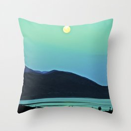 Enchanted Moon. Throw Pillow
