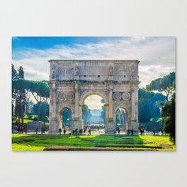 The Roman Arch Canvas Print