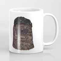 che Mugs featuring che bacca by Heymikel