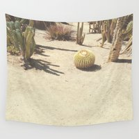 cacti Wall Tapestries featuring Cacti by Amber Barkley