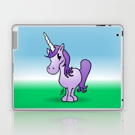 Purple Unicorn Laptop & iPad Skin