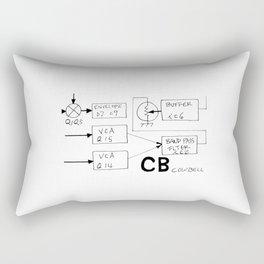 Roland 808 Cowbell Rectangular Pillow