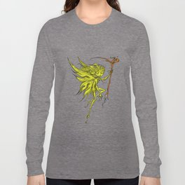 Green Sprite Long Sleeve T-shirt
