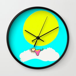 Recharge Wall Clock