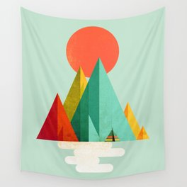 Little Geometric Tipi Wall Tapestry