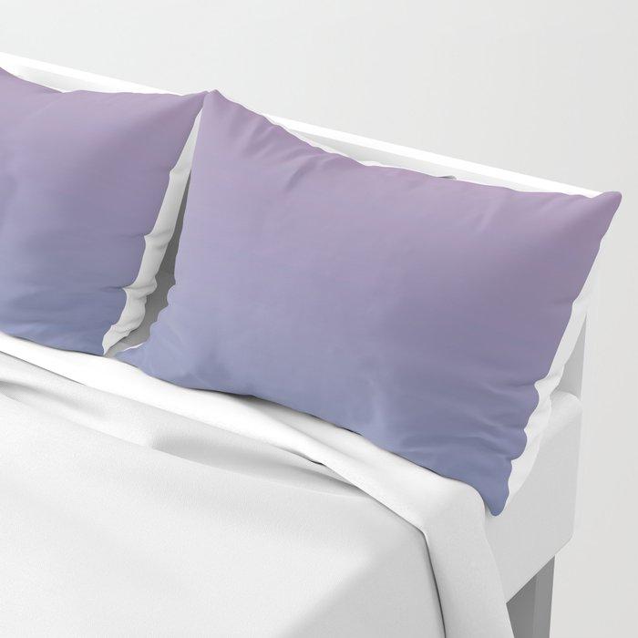 Gradient Dawn Pink Purple Blue Pillow Sham