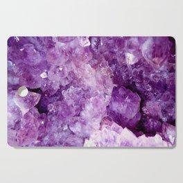 Purple Gems Cutting Board