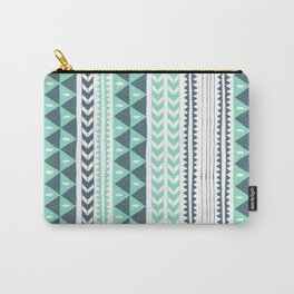Winter Stripe Carry-All Pouch