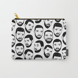 the many faces of Drake Carry-All Pouch