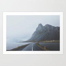 Þjóðvegur, Iceland Art Print