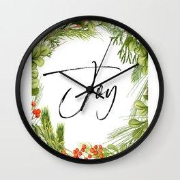 Joy, Joy Art Joy Quote, Feel Joy, Joy Wall Clock