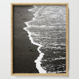 Black Sand Beach Serving Tray