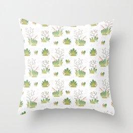 Shy Unicorn Pattern Throw Pillow
