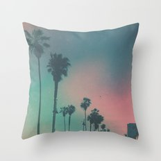 Venice Beach, CA. Throw Pillow
