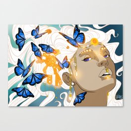 Butterflies Amazon Canvas Print