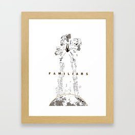 Familiars Cover Framed Art Print