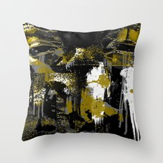 Golden In His Eyes Throw Pillow