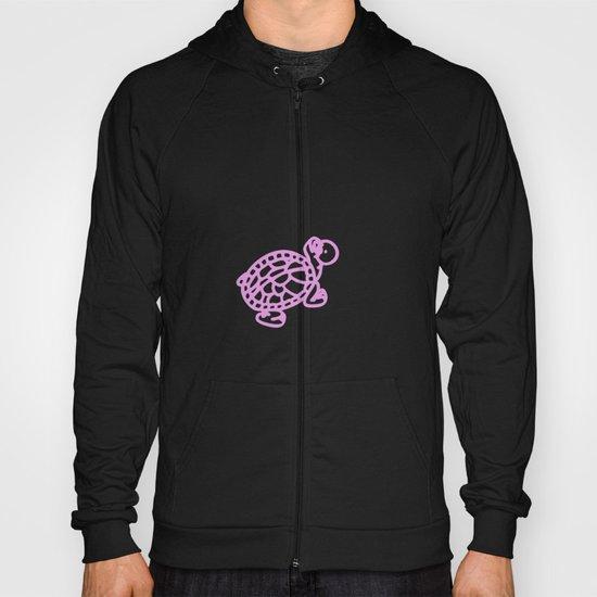 Pink Turtle Hoody
