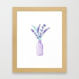 Lavanda 21 style Framed Art Print