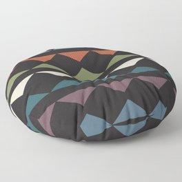 African triangles Floor Pillow