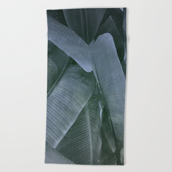Cosmic Leafs Beach Towel