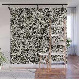 Relief Pattern Abstract Wall Mural