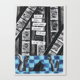 Arsonist Canvas Print