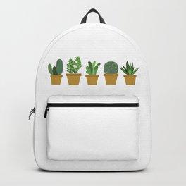 Succulent & Cactus Illustration Backpack