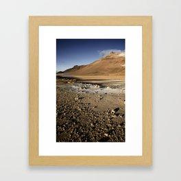Hveraronð, Iceland Framed Art Print