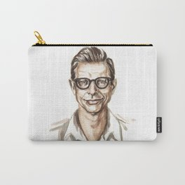 All that Glitters is Goldblum - Funny Jeff Goldblum Illustration Carry-All Pouch