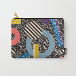 Memphis Inspired Pattern 4 Carry-All Pouch